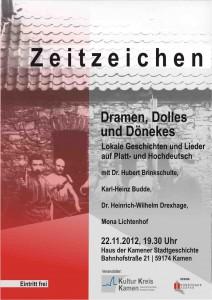 Plakat Zeitzeichen Lesung 2012 Din A6 a Kopie