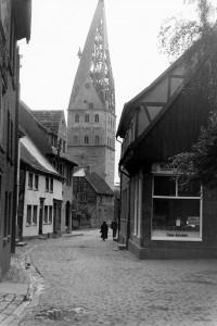 Pauluskirche kriegsbeschädigt