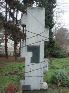 Mahnmal Holz Front Jan 2013