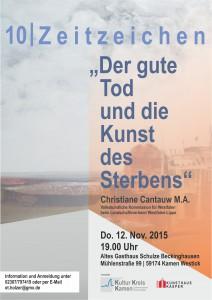 Zeitzeichen 10 DIN A5 Plakat
