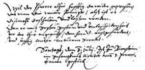 Abb. 4 Prozeßakte 1597