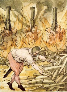 Abb. 1 Hexenverbrennung 2