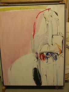 Abb. 3 Der König auf dem Weg nach Unna 1964 100 x 80 cm Kopie