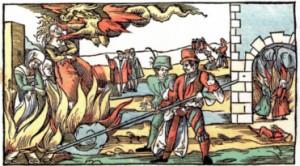 Abb. 3 Hexenverbrennung