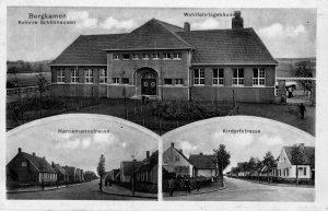 Postkarte Wohlfahrtsgebäude Schönhausen