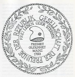 Abb. 3 Siegel-Jakobinerclub-Mainz